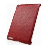 SPIGEN Griff Leather Grip [SGP07700] - Dante Red - Casing Tablet / Case